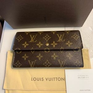 🌼LV LONG TRIFOLD WALLET MONOGRAM🌼👜